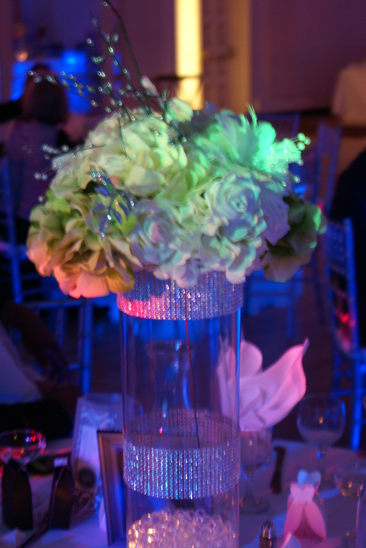 Melody Ballroom Portland Wedding Lights
